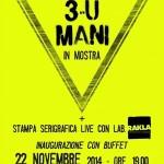 Locandina 3u-mani in mostra_2014
