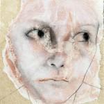 Invidia 2012 tecnica mista su carta 18x13 cm
