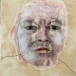 Ira 2012 tecnica mista su carta 18x15 cm