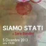 Locandina mostra_Siamo Stati_2013